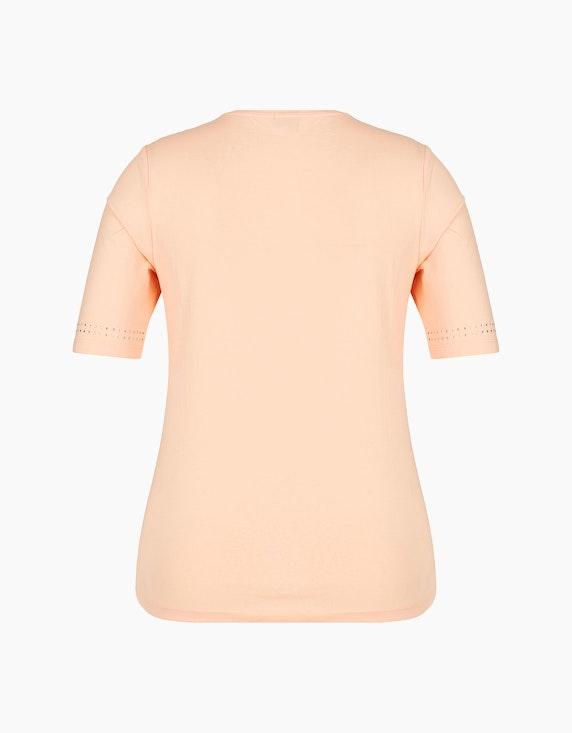 Malva Halbarm-Shirt mit Stickerei und Strassbesatz | ADLER Mode Onlineshop