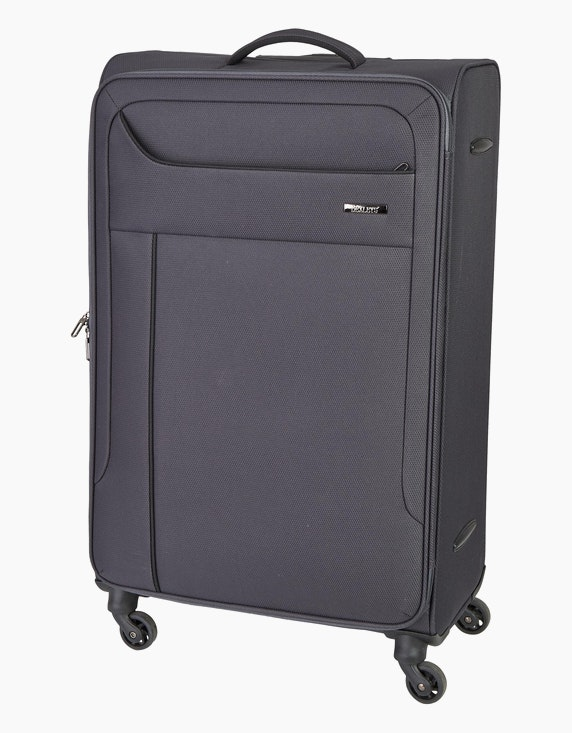 Bexleys Edition Schwarz Koffer mit 4 Rollen - 79 cm | ADLER Mode Onlineshop