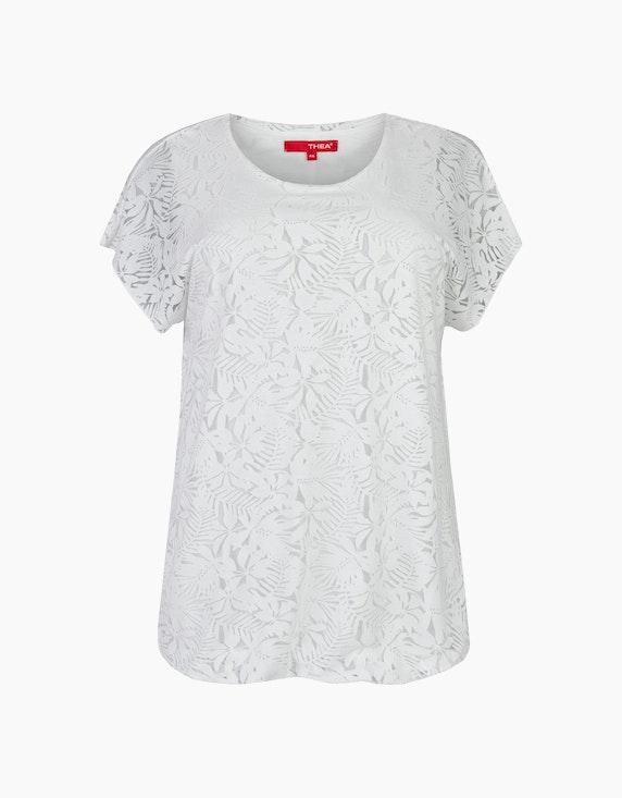 Thea Shirt aus Spitze in Weiß | ADLER Mode Onlineshop