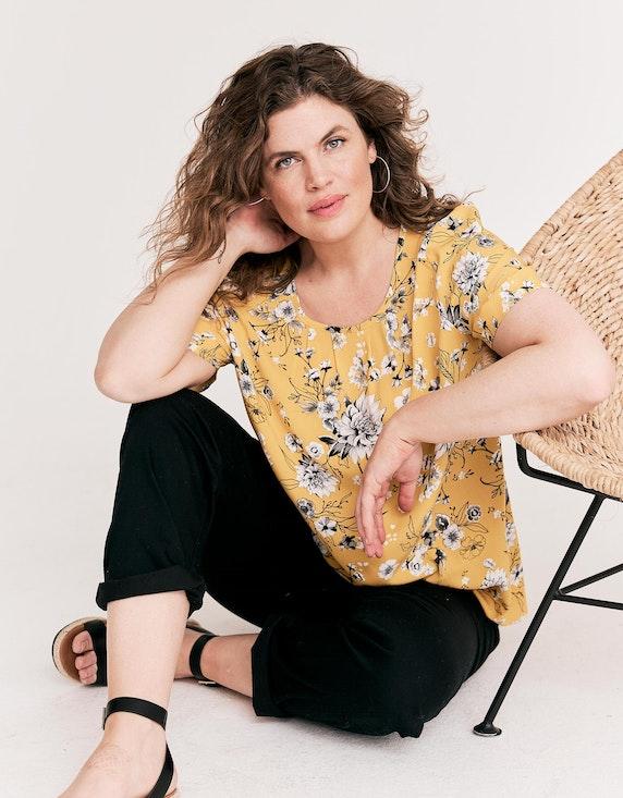 Thea Shirt mit Blumendruck | ADLER Mode Onlineshop