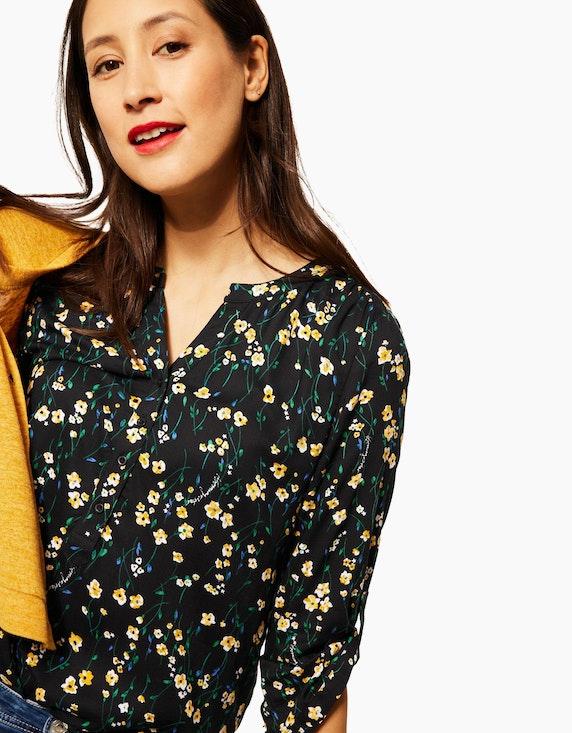 Street One Bluse mit floralem Muster | ADLER Mode Onlineshop