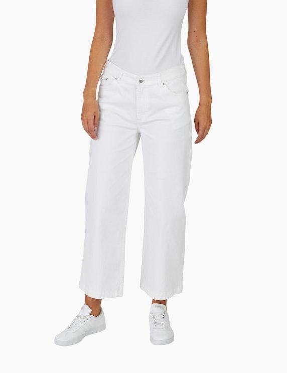 Via Cortesa Jeans-Culotte in einer 7/8-Länge | ADLER Mode Onlineshop