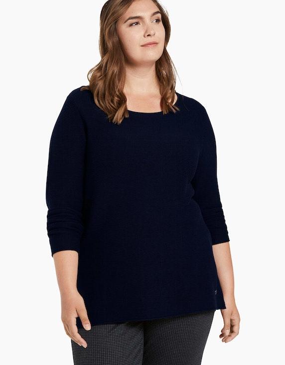 My True Me Pullover mit Streifenstruktur | ADLER Mode Onlineshop
