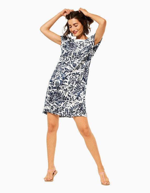 CECIL Kleid mit floralem Muster | ADLER Mode Onlineshop