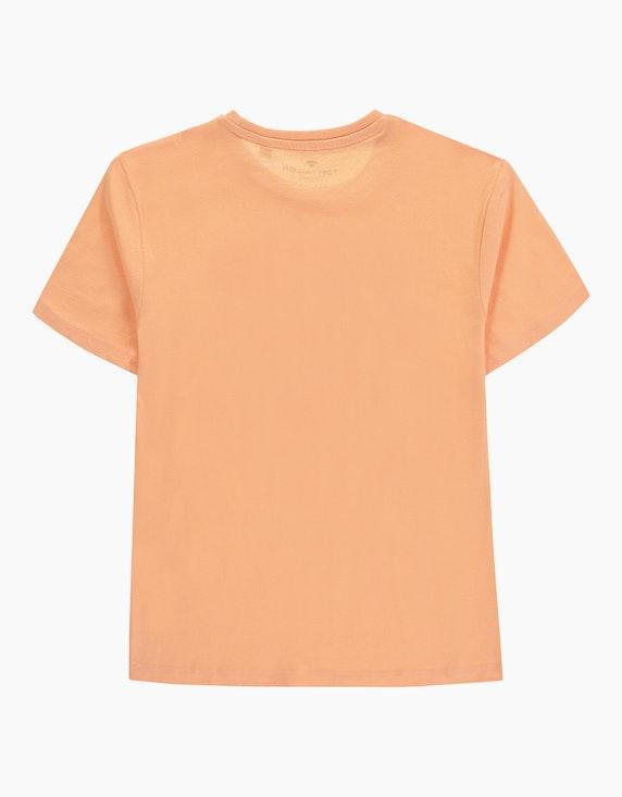 Tom Tailor Boys T-Shirt mit sommerlichem Brustdruck | ADLER Mode Onlineshop