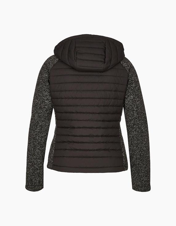 Eibsee Jacke im Materialmix aus Strick-Fleece und Stepp | ADLER Mode Onlineshop