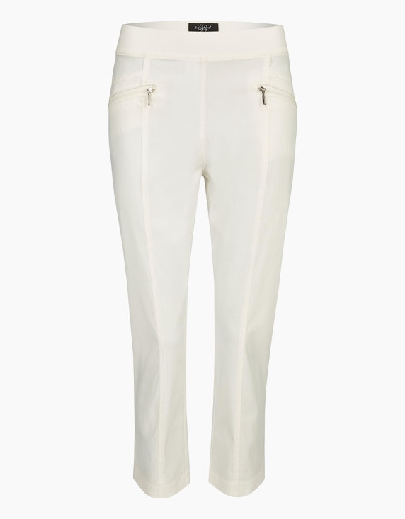 Bexleys woman 3/4 Bengalin-Hose in Schlupfform in Weiß | ADLER Mode Onlineshop