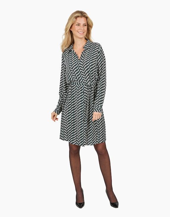 Bexleys woman Crêpe-Kleid im Hemdblusenstil | ADLER Mode Onlineshop