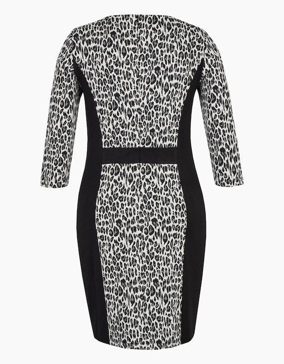 Bexleys woman Kleid im Material-Mix aus Jacquard- und Romanit-Jersey | ADLER Mode Onlineshop