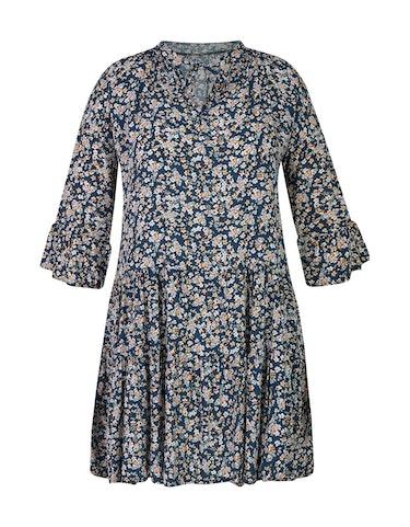 Produktbild zu Stufenkleid mit Millefleurs-Muster von Made in Italy