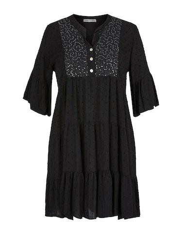 Produktbild zu Kleid mit Dobby-Struktur von Made in Italy