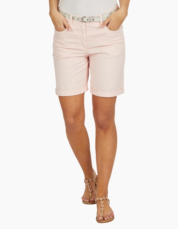 Bexleys woman Baumwoll-Shorts mit Gürtel | ADLER Mode Onlineshop
