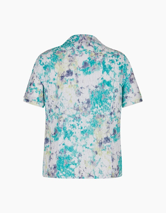 Bexleys woman Crinkle-Bluse mit Druck und Ausbrenner   ADLER Mode Onlineshop