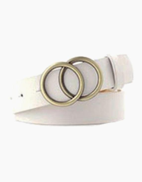 Adler Collection Gürtel in Lederoptik mit doppelter Schnalle | ADLER Mode Onlineshop