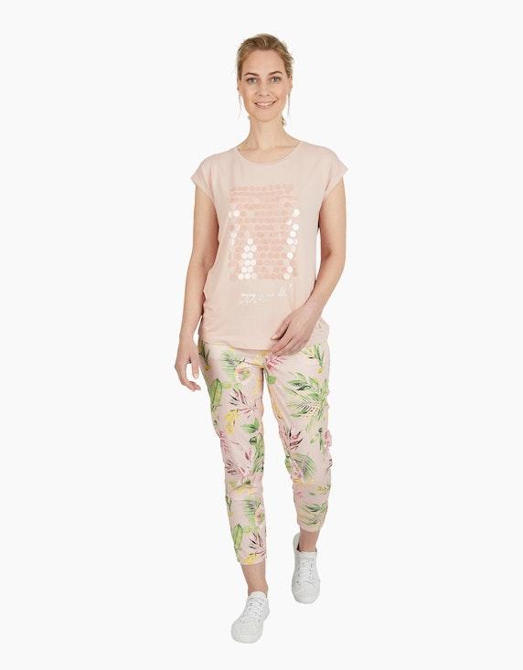 Viventy Kurzarmshirt mit Paillettenbesatz | ADLER Mode Onlineshop