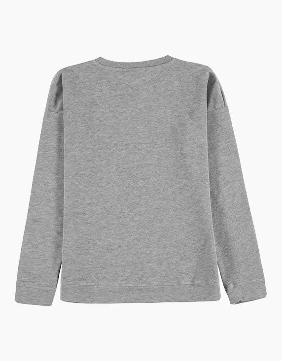 Tom Tailor Girls Sweatshirt mit Motto-Druck   ADLER Mode Onlineshop