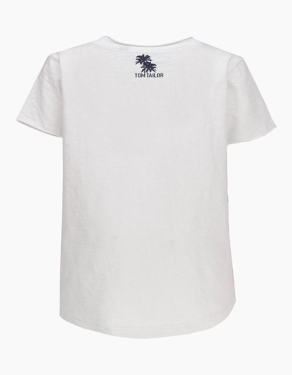 Tom Tailor Mini Boys T-Shirt mit Schriftzug und Druck   ADLER Mode Onlineshop