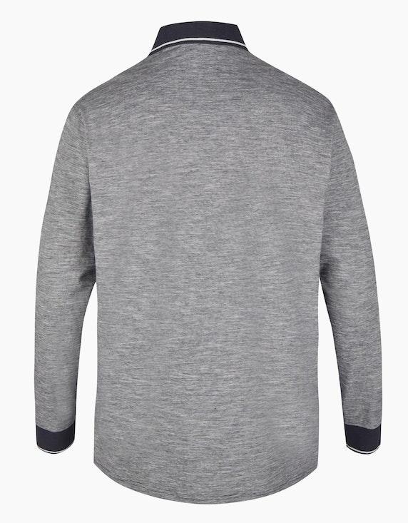 Big Fashion Poloshirt mit Melange-Effekt   ADLER Mode Onlineshop