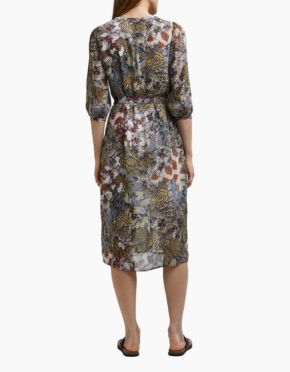 Esprit Chiffon-Blusenkleid mit Botanik-Print | ADLER Mode Onlineshop