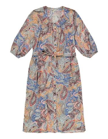 Produktbild zu <strong>Crinkle-Blusenkleid mit Paisley-Print</strong>CURVY von Esprit