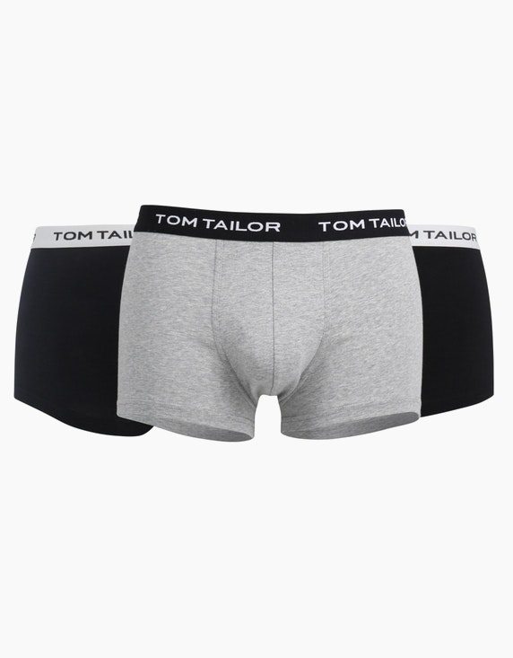Tom Tailor Retroboxer 3er Pack   ADLER Mode Onlineshop