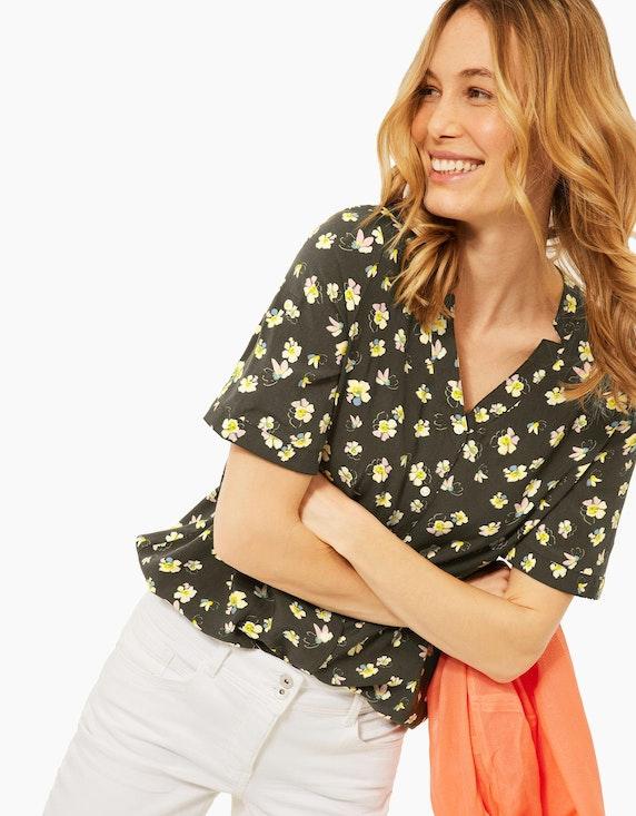 CECIL Bluse mit Blumenmuster | ADLER Mode Onlineshop