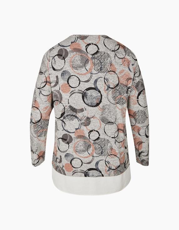 VIA APPIA DUE Sweatshirt mit Bluseneinsatz | ADLER Mode Onlineshop