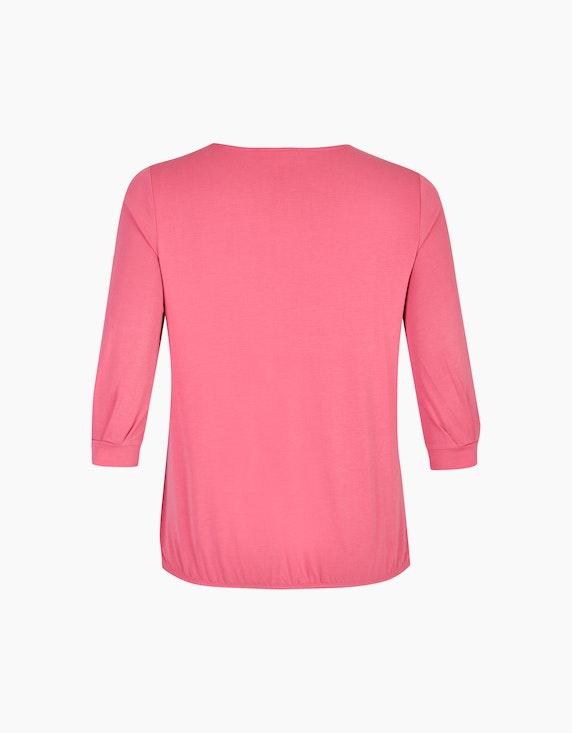 VIA APPIA DUE Unifarbenes Shirt mit weiten Ärmeln | ADLER Mode Onlineshop