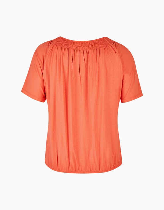 VIA APPIA DUE Lässiges Shirt mit Gummizug | ADLER Mode Onlineshop