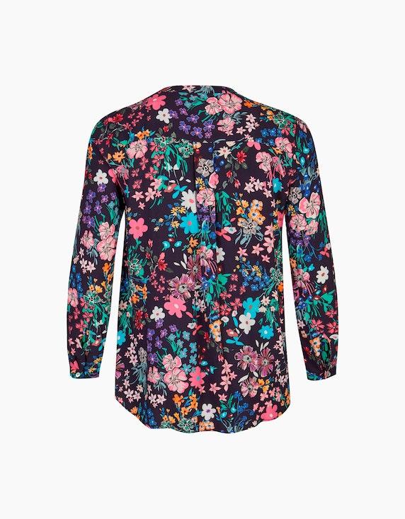 VIA APPIA DUE Viskosebluse mit floralem Print | ADLER Mode Onlineshop