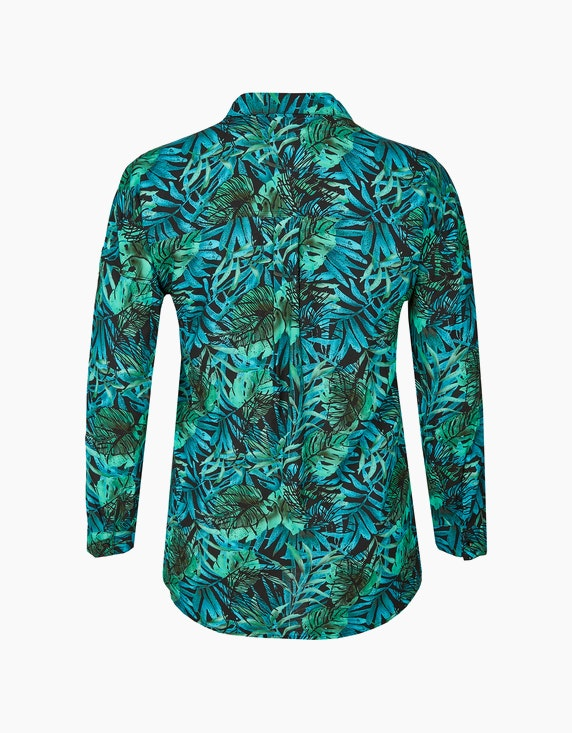 No Secret Bluse mit Palmblätterprint   ADLER Mode Onlineshop