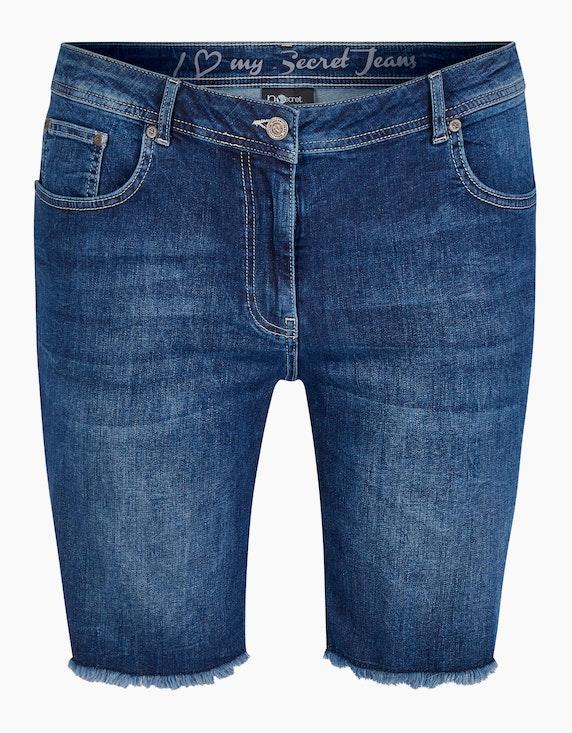 No Secret Kurze Jeans mit Fransen | ADLER Mode Onlineshop