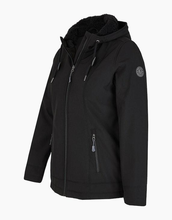 Adler Collection Softshell-Jacke mit Teddyfell-Futter | ADLER Mode Onlineshop
