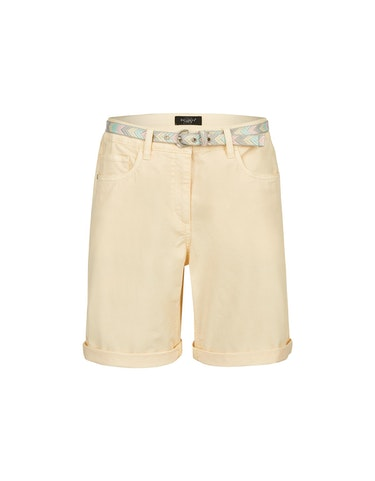 Hosen - Baumwoll Shorts mit Gürtel, 44  - Onlineshop Adler