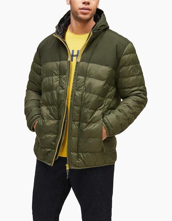 s.Oliver Nylon-Jacke mit abnehmbarem Einsatz | ADLER Mode Onlineshop