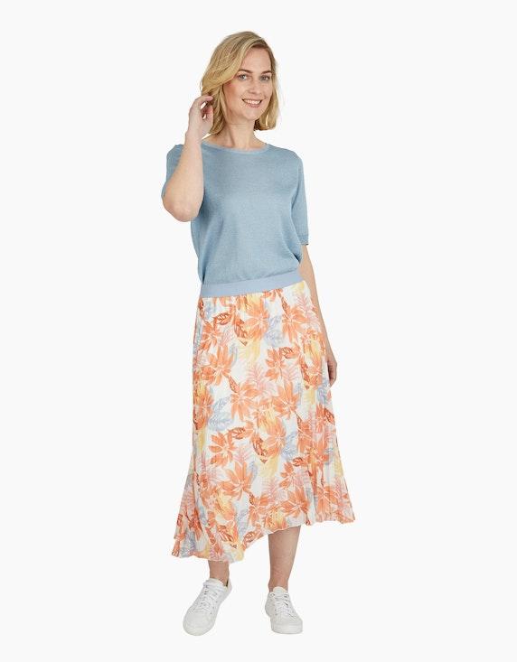 Steilmann Woman Feinstrickpullover mit halblangen Ärmeln | ADLER Mode Onlineshop