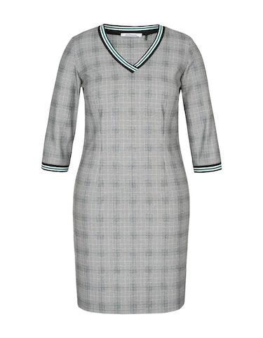 Produktbild zu Glencheck-Kleid mit V-Ausschnitt von Steilmann Woman