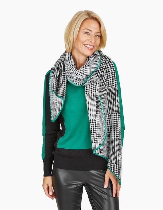 Steilmann Woman Lederimitathose mit breitem Bund in Schwarz | ADLER Mode Onlineshop