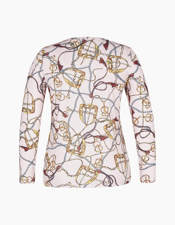 Malva Langarmshirt mit ganzflächigem Druck | ADLER Mode Onlineshop
