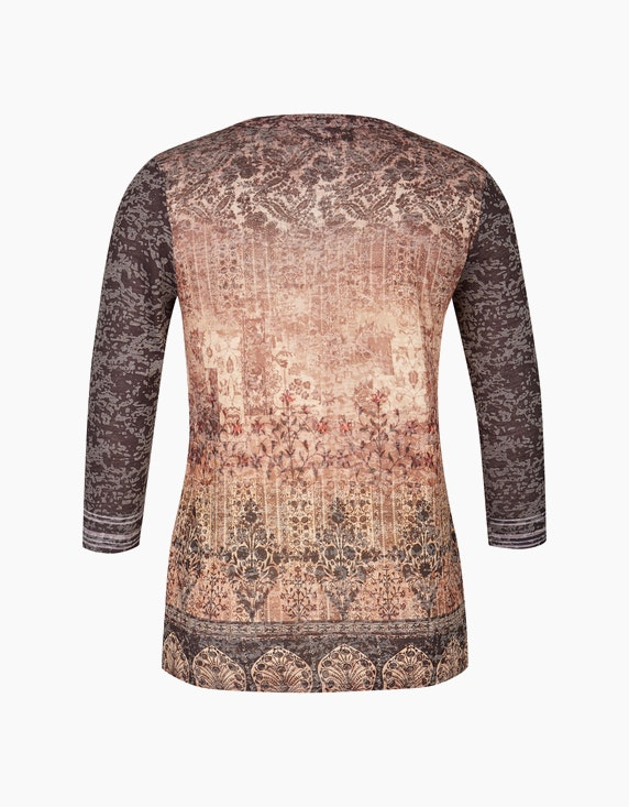 Bexleys woman Shirt mit Allover-Print | ADLER Mode Onlineshop