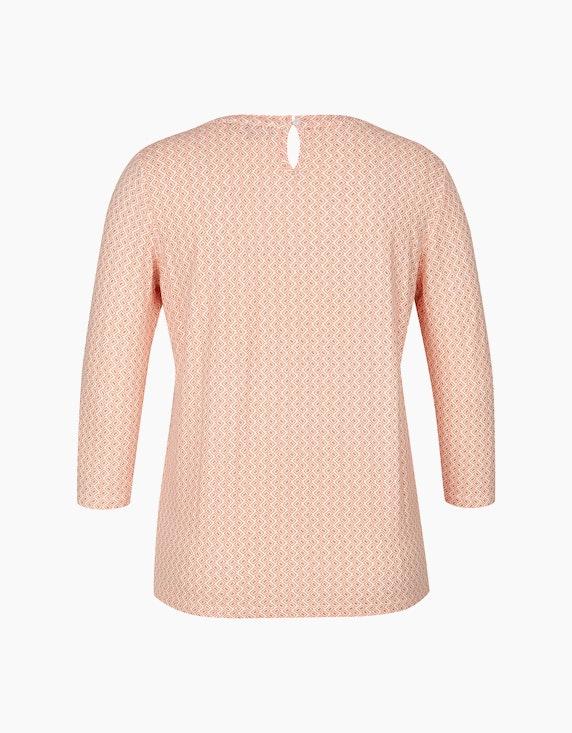 Bexleys woman Shirt mit Allover-Print und Ärmeln in 3/4 Länge | ADLER Mode Onlineshop