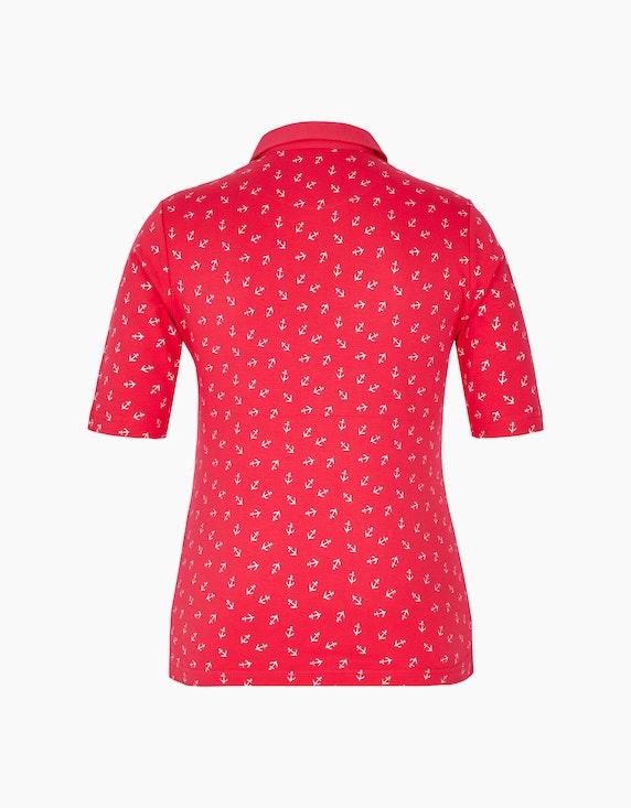 Bexleys woman Poloshirt mit Minimalprint | ADLER Mode Onlineshop