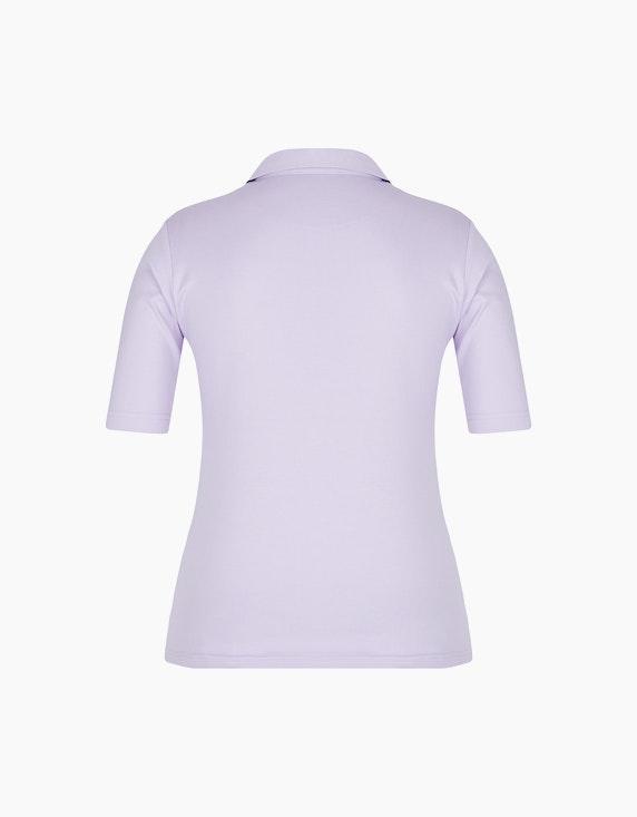 Bexleys woman Unifarbenes Poloshirt | ADLER Mode Onlineshop
