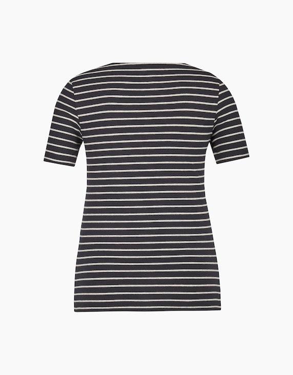 Bexleys woman T-Shirt mit Streifen-Muster | ADLER Mode Onlineshop