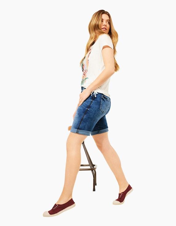 CECIL Slim Fit Shorts in Denim | ADLER Mode Onlineshop