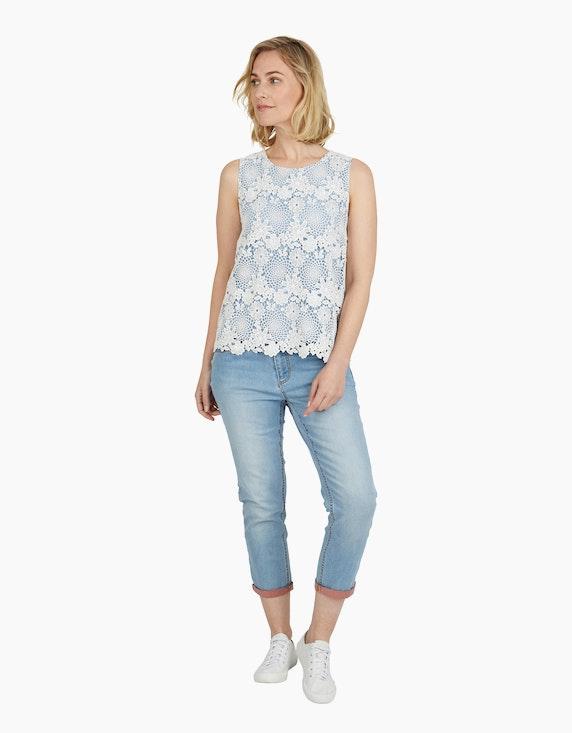 Steilmann Woman Spitzentop mit Kontrastfutter   ADLER Mode Onlineshop