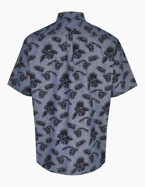 Big Fashion Hemd mit Blätterdruck   ADLER Mode Onlineshop