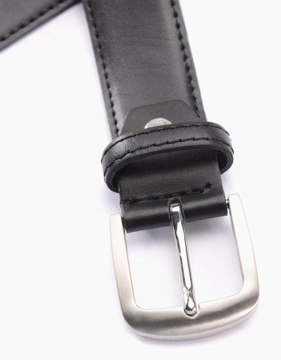 Bexleys man Gürtel mit glatter Oberfläche | ADLER Mode Onlineshop