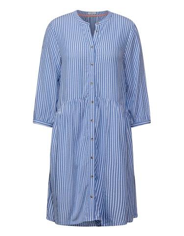 Produktbild zu Seersucker-Kleid im Streifen-Look von CECIL