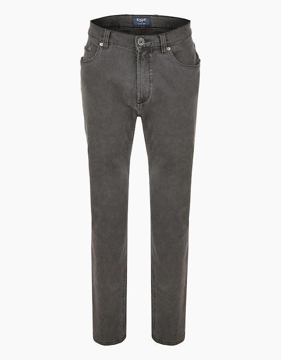 Eagle No. 7 Jeans Slim Fit 823 in Grau | ADLER Mode Onlineshop